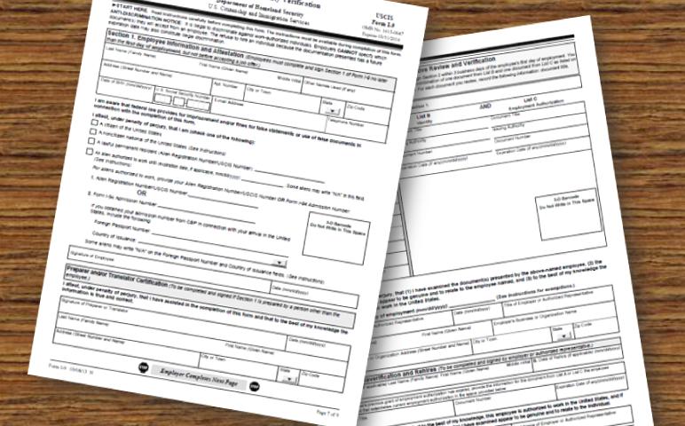 REMINDER: Revised Form I-9 – NAAAHR