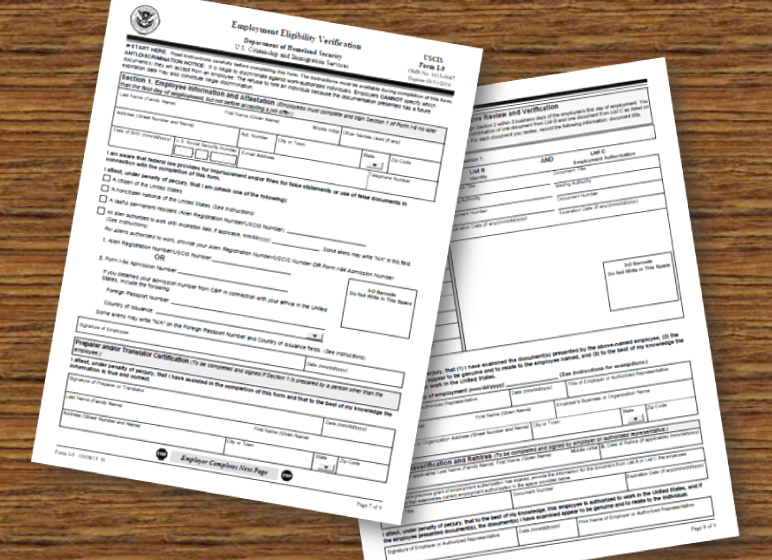 photograph about I 9 Form Printable known as REMINDER: Revised Variety I-9 NAAAHR