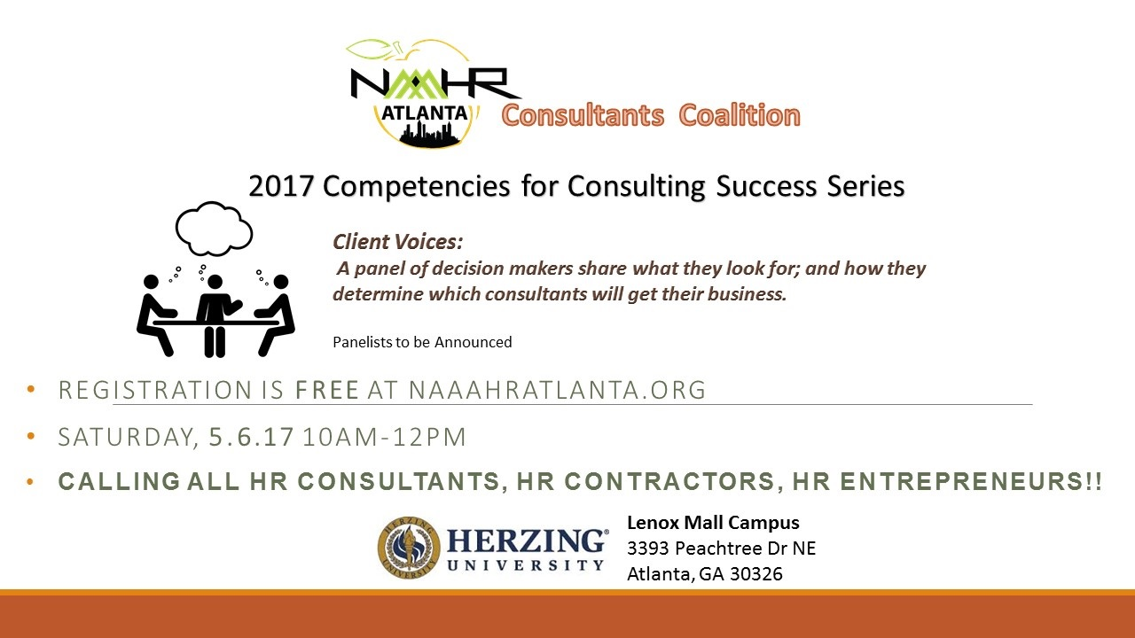 Consultant Coalition May 2017