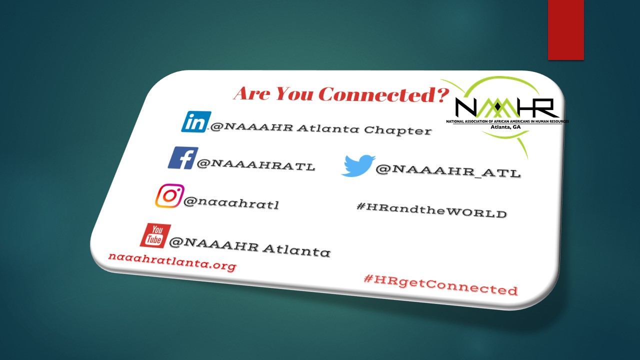 NAAAHR connected flyer