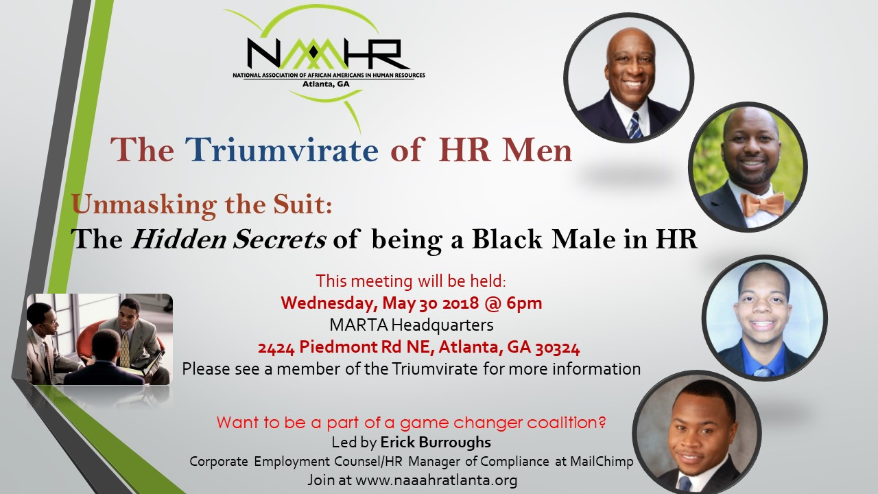 HR Triumvirate of HR Men Meeting Flyer
